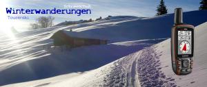 GPS- Winterwanderungen