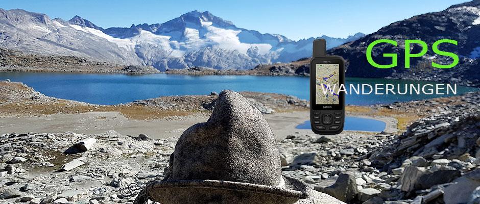 Wanderungen mit dem GPS Navi