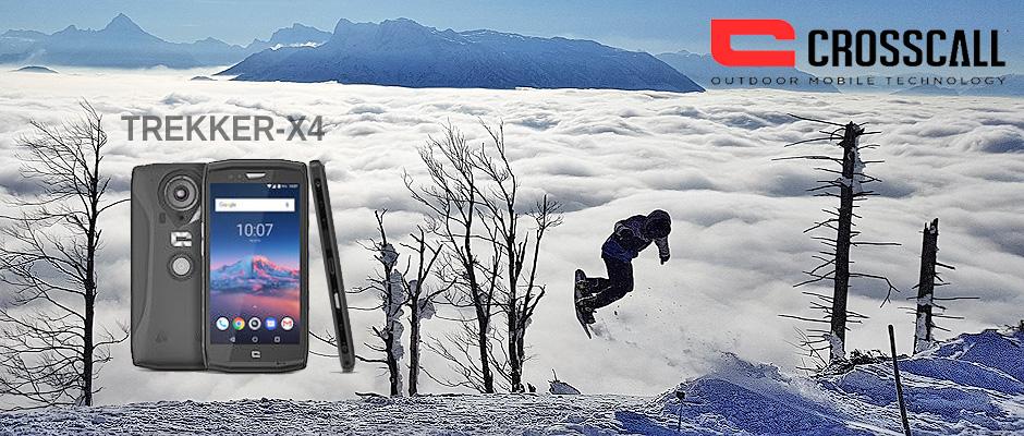 Outdoorsmartphone Crosscall Trekker X4