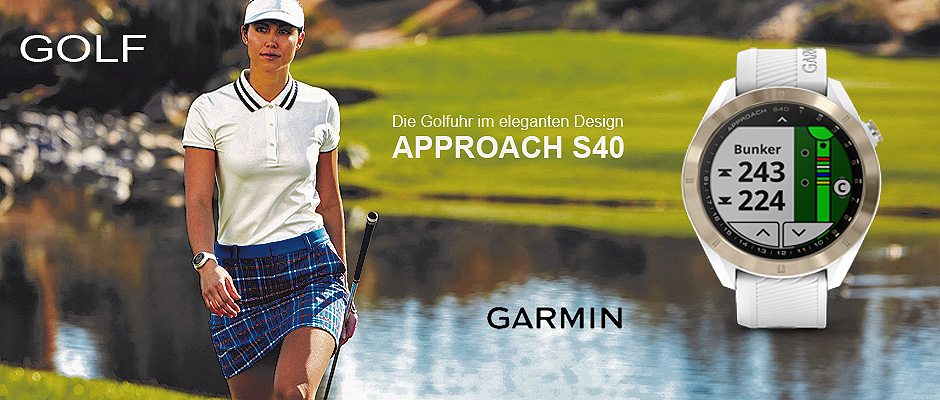 Garmin Golfuhr Approach S40