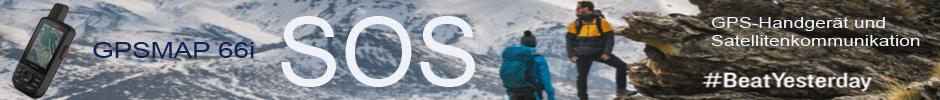 SOS und Navigation Garmin GPSMAP 66i