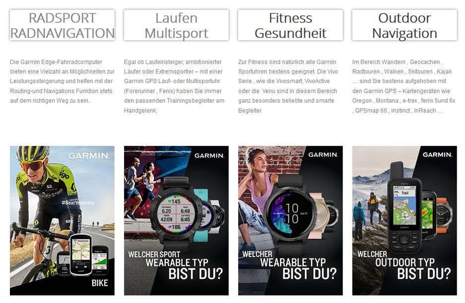 Garmin Folder für Sport , Fitness , Outdoor & Strassen Navigation