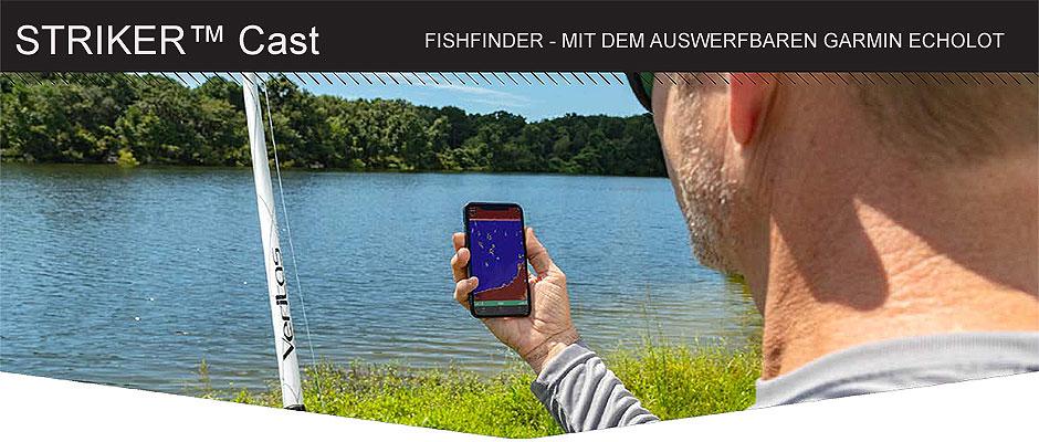 Garmin Fishfinder Striker Cast