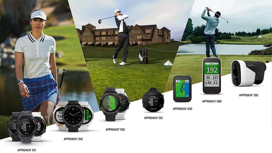 Garmin Golf Uhren und Handgeraete